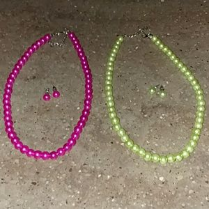 Jewelry - NWOT pearl sets bundle